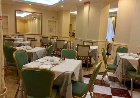 Breakfast Room فندق أندريولا سنترال ميلان